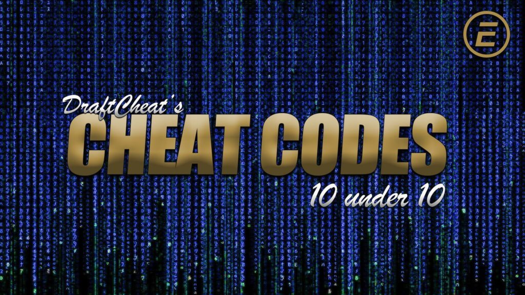 Cheat Codes NFL DFS