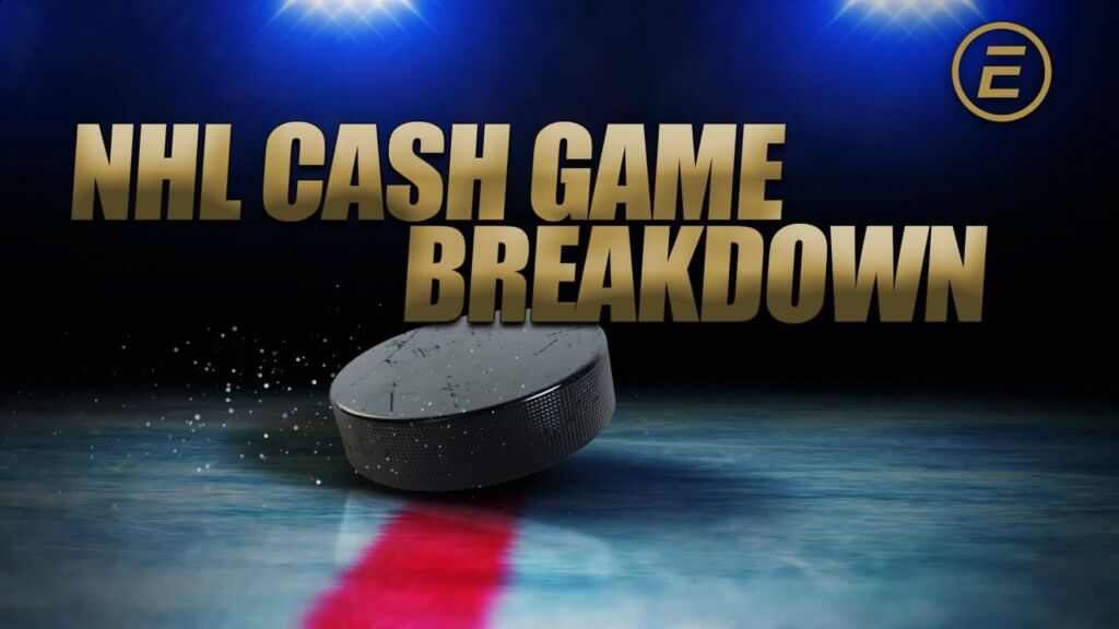 NHL Cash Game Breakdown Graphic