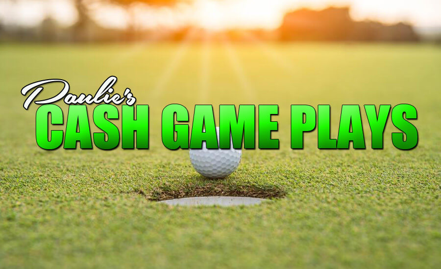 PGA DFS Cash Game Plays
